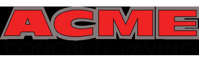 ACME Concrete Paving Logo